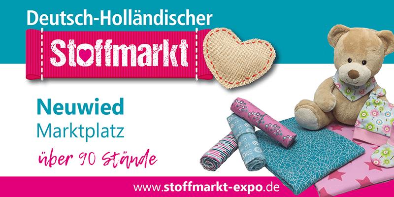 Stoffmarkt Expo Neuwied Marktplatz